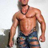 stripteaseur St-tropez kyle