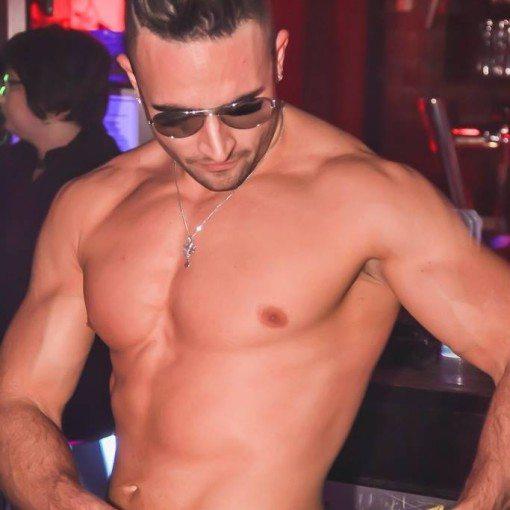 stripteaseur russ enzo