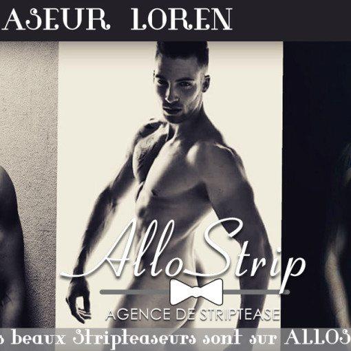 stripteaseur loren mont-saint-michel