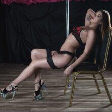 stripteaseuse auch Haxelle